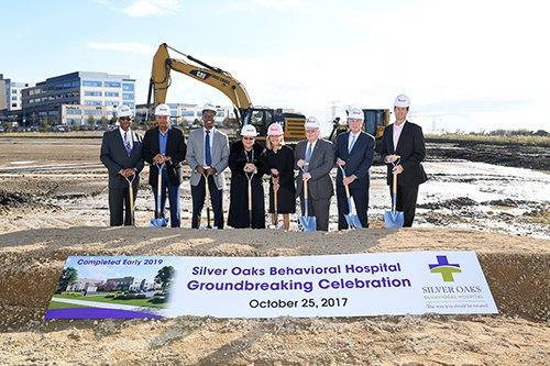 silver oaks groundbreaking ceremony