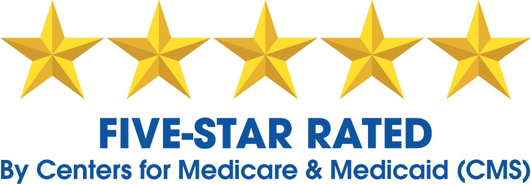 CMS five star logo