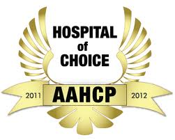Hosptial of Choice Award logo