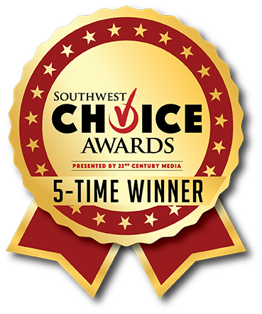 Southwest Choice Award 5 Time Winner logo