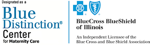 Blue Distinction Center for Maternity logo