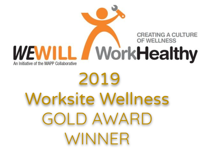 We Will Work Healthy Worksite Wellness Award
